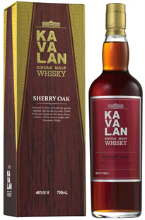 Kavalan Whisky Single Malt Sherry Oak 750ml